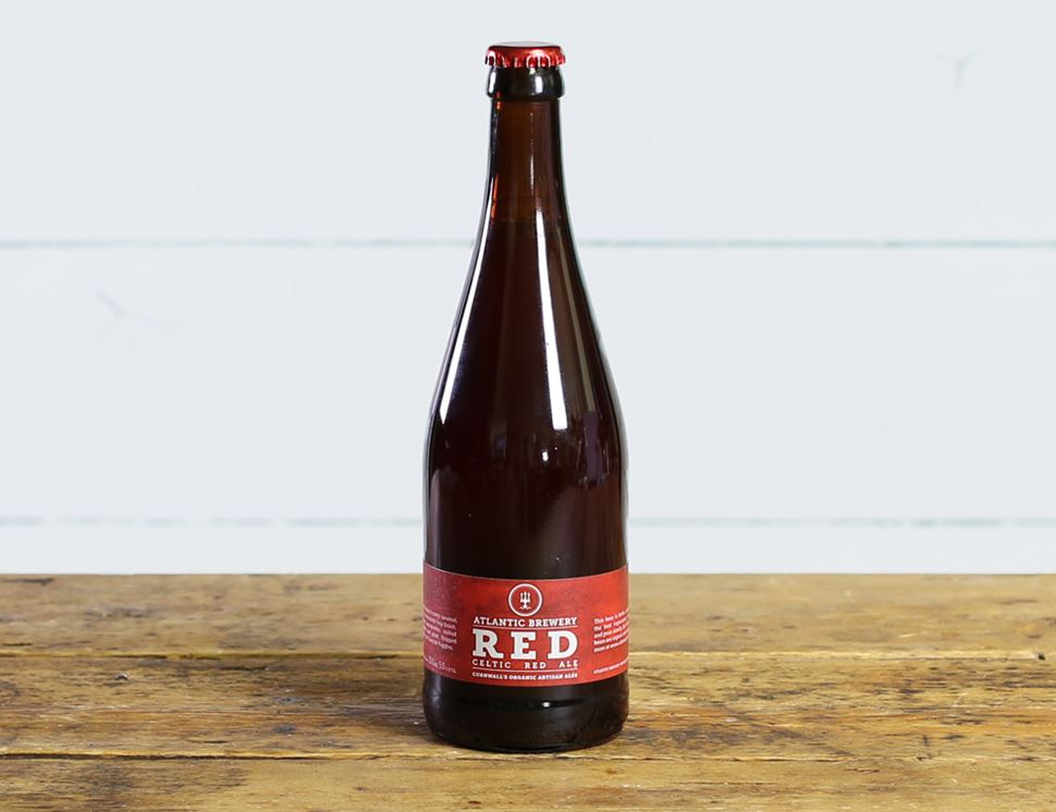 Red Ale, Organic, Atlantic Brewery (500ml)