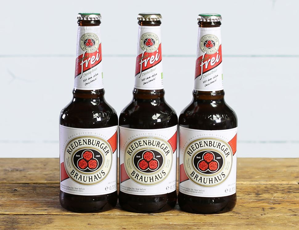 Low Alcohol Lager, Organic, Riedenburger (3 x 330ml)