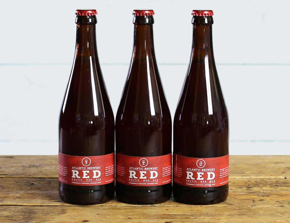 Red Ale, Organic, Atlantic Brewery (3 x 500ml)