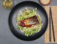 Hoisin Salmon & Rice