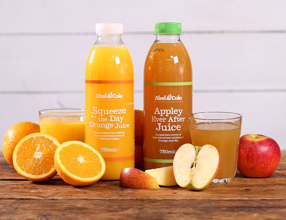 Squeeze The Day Orange Juice, Organic, Abel & Cole (750ml)