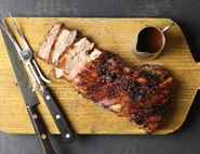 Roast Pork Belly with Honey Ginger Clems