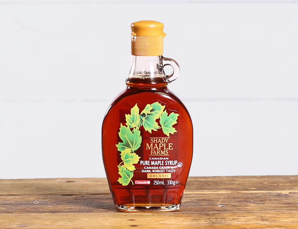 Maple Syrup, Organic, Shady Maple Farms (250 ml)