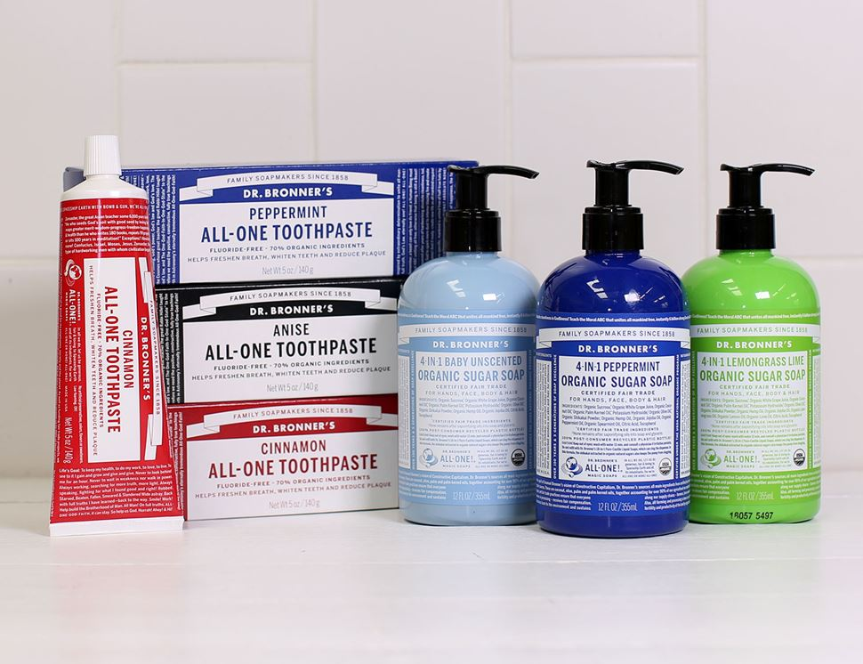 Peppermint Toothpaste, Organic, Dr Bronner's (140g)
