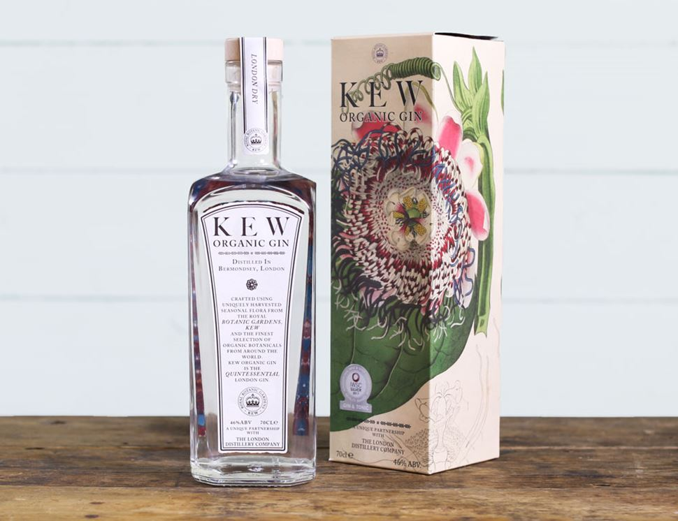 Kew Organic Gin, Organic, London Distillery (70cl)