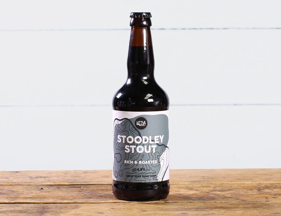 Stoodley Stout, Organic, Little Valley Brewery (500ml)