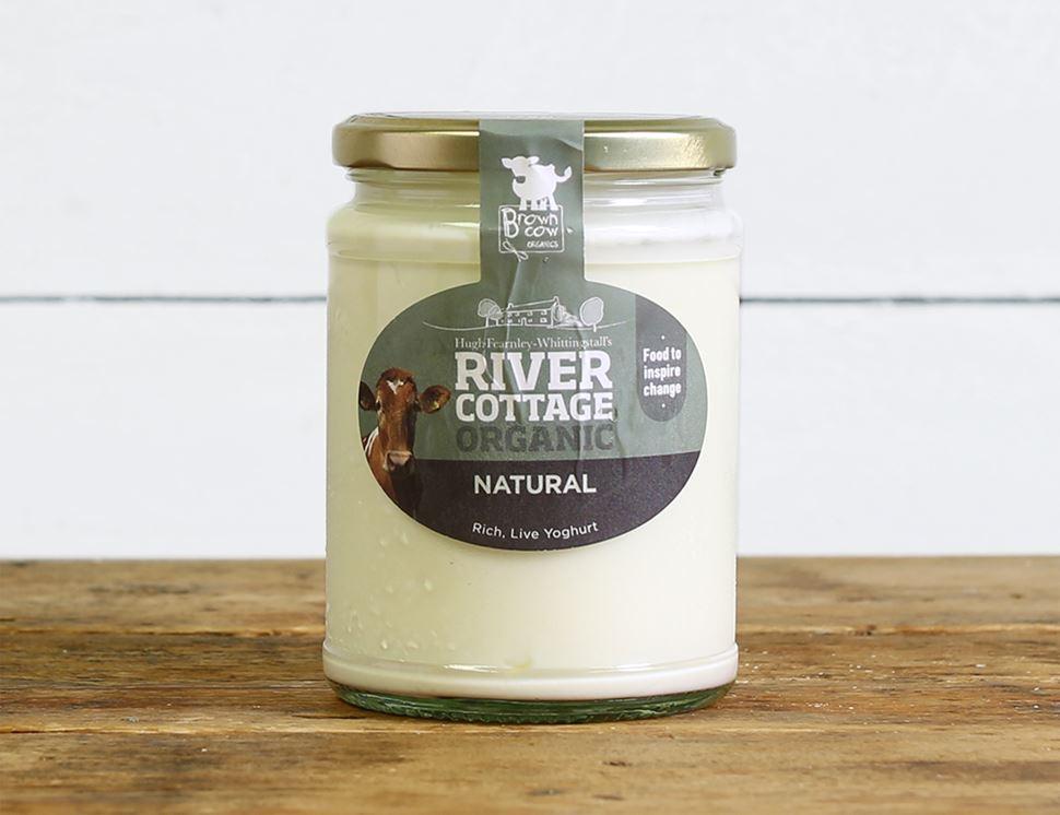 Natural Yogurt Organic River Cottage 475g