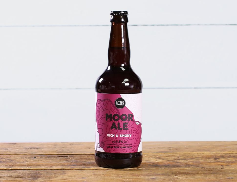 Moor Ale, Organic, Little Valley Brewery (500ml)