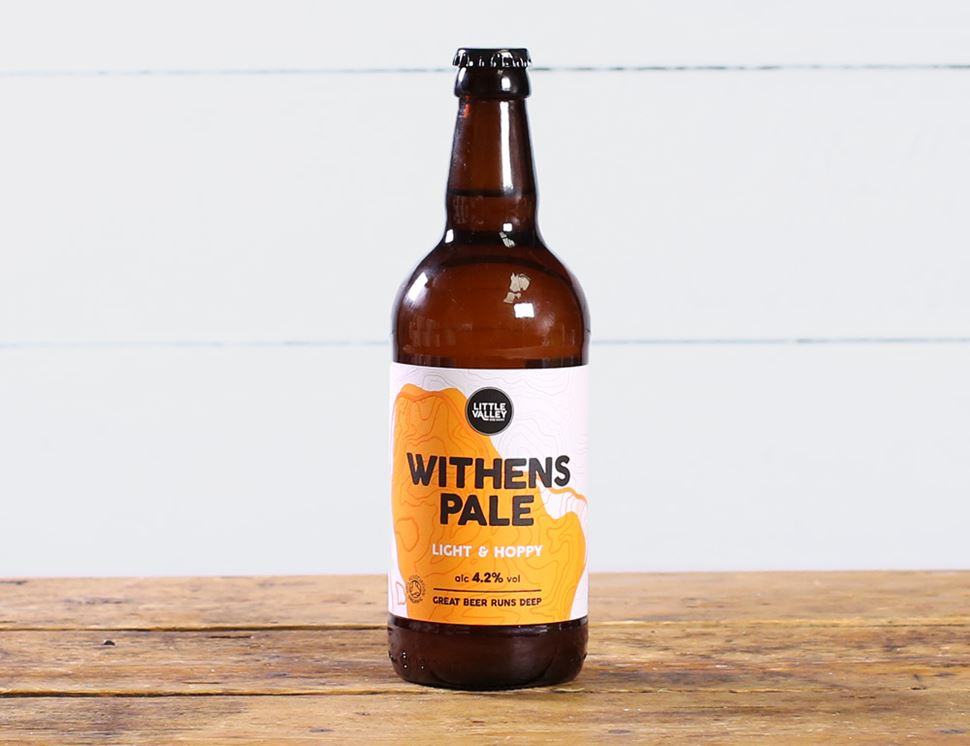 Withen's Pale, Organic, Little Valley Brewery (500ml)