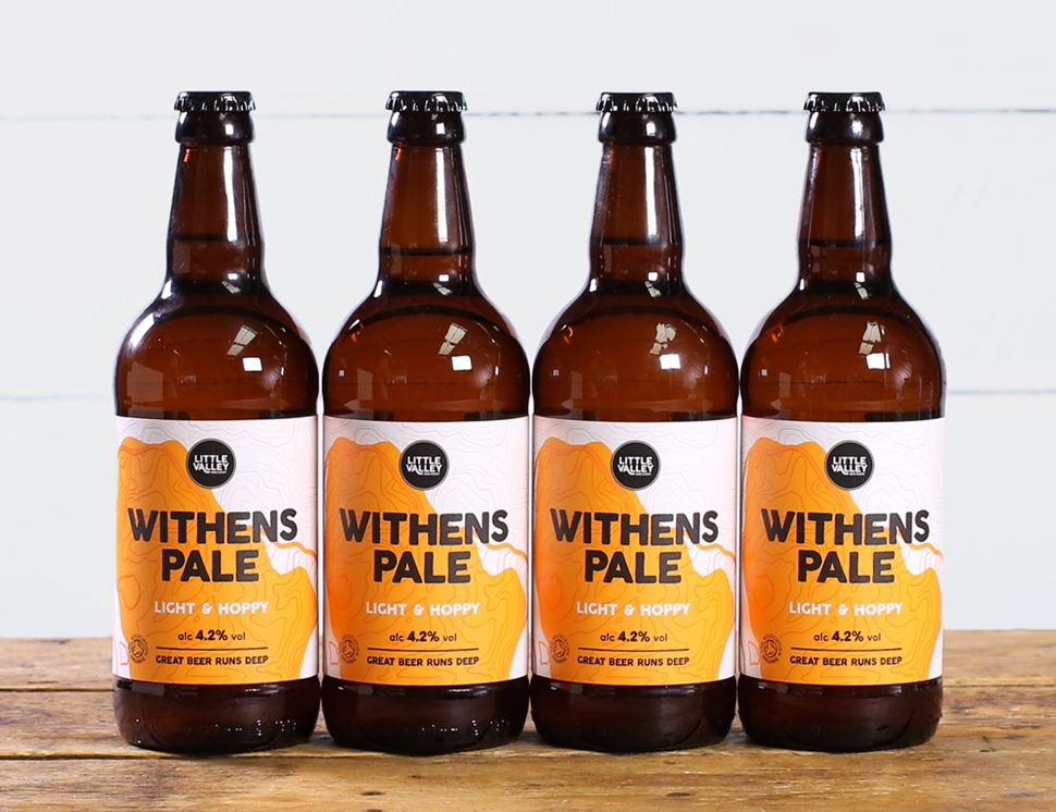 Withen's Pale, Organic, Little Valley Brewery (4 x 500ml)