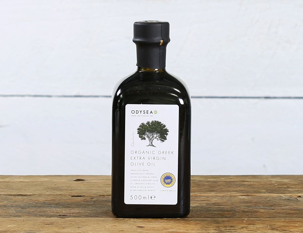 Greek Extra Virgin Olive Oil PGI Chania, Organic, Odysea (500ml)