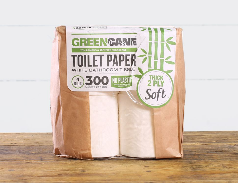 Toilet Roll, Greencane (4 pack)