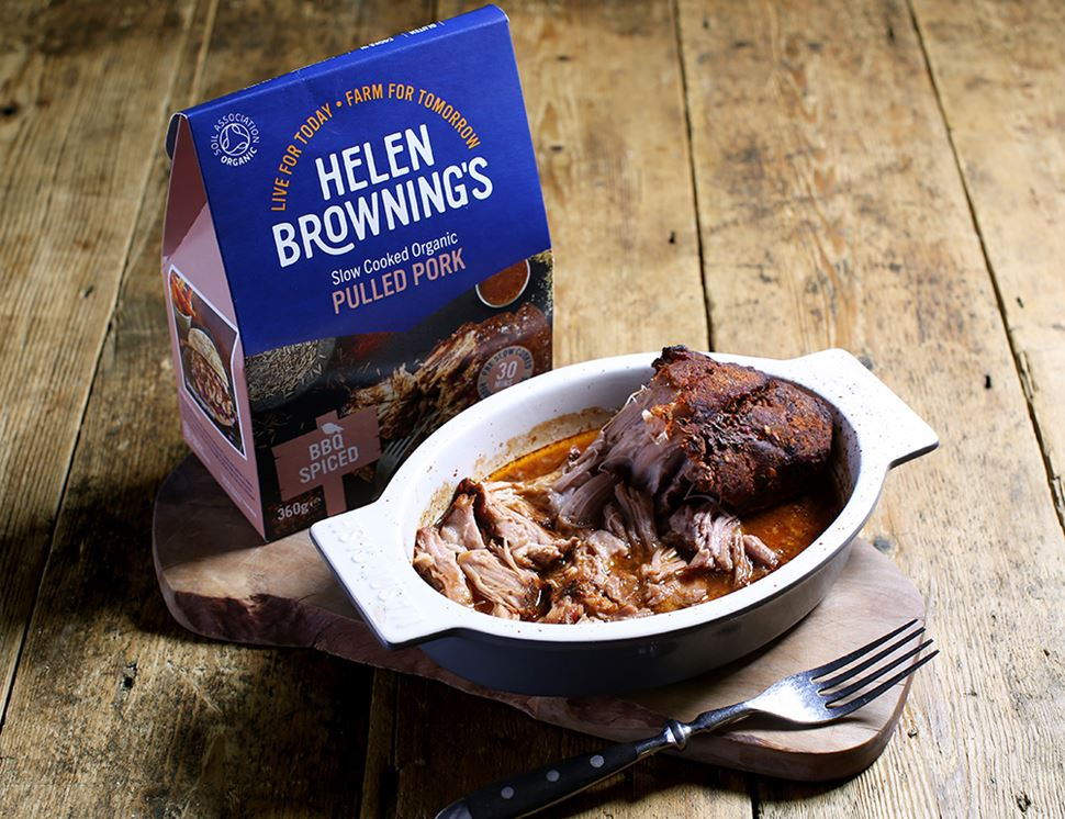 Pulled Pork, BBQ Spiced, Organic, Helen Browning (360g)