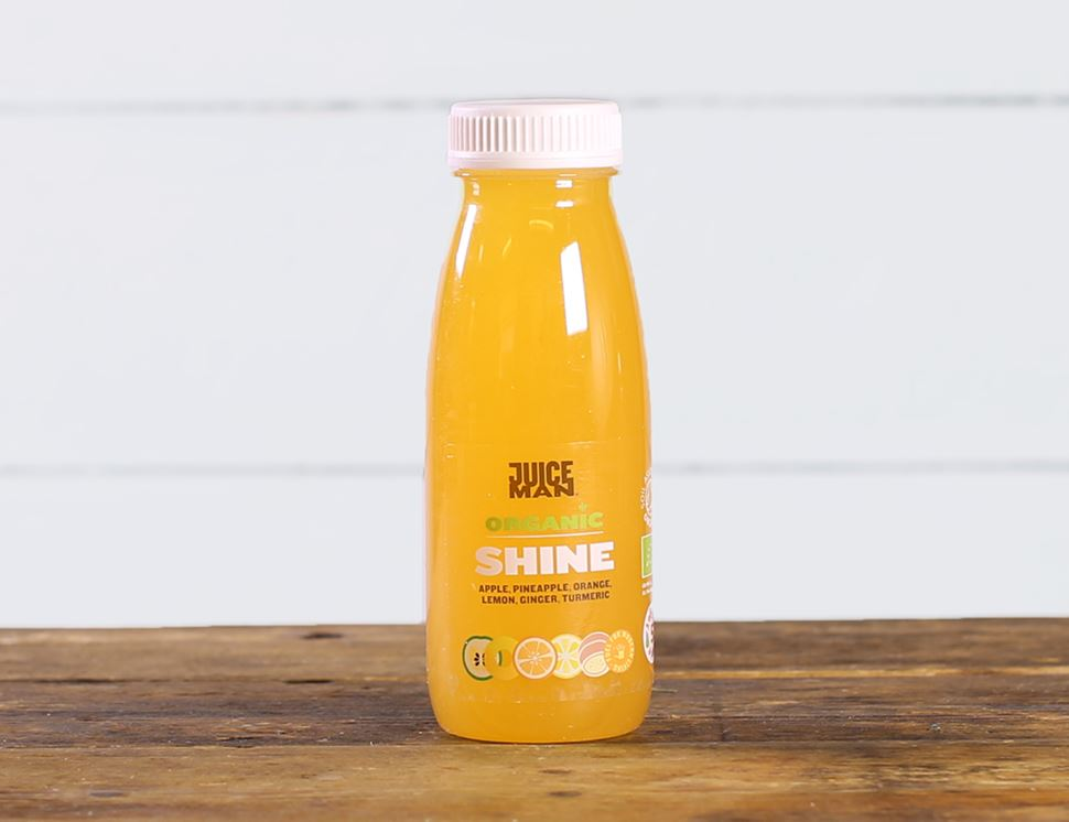 Shine, Organic, Juiceman (250ml)