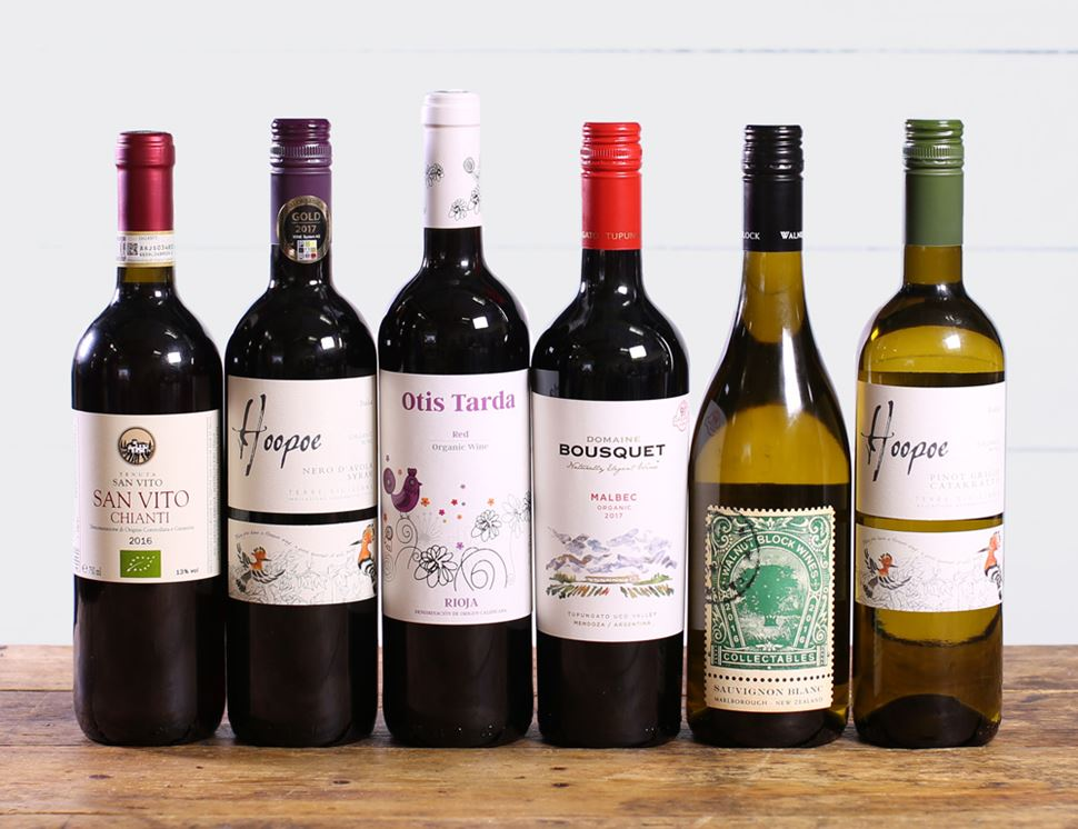 Abel & Cole Favourites Wine Collection, Organic (6 bottles)