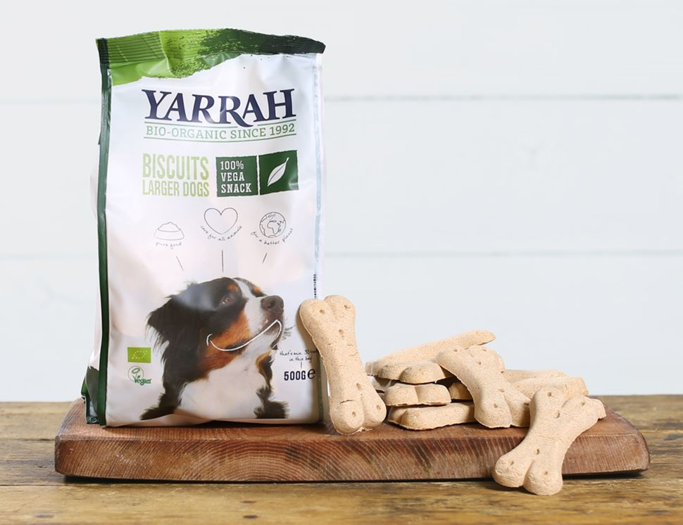 Vegan Dog Biscuits Organic Yarrah 500g