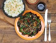 To Sesame To You Aubergine Stir-Fry