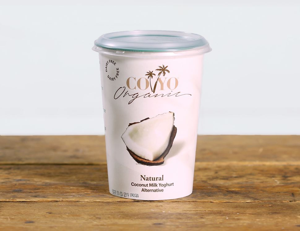 Natural, Dairy Free, Coconut Yogurt, Organic, COYO (400g)