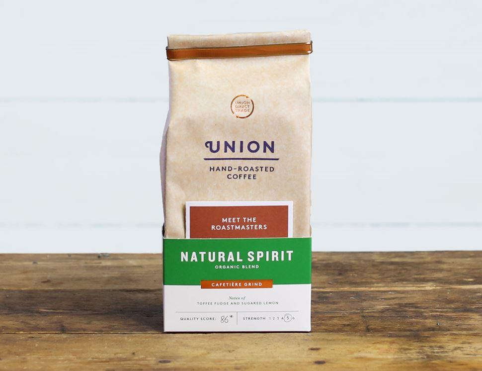 Natural Spirit Ground Coffee, Organic, Union Coffee (200g)