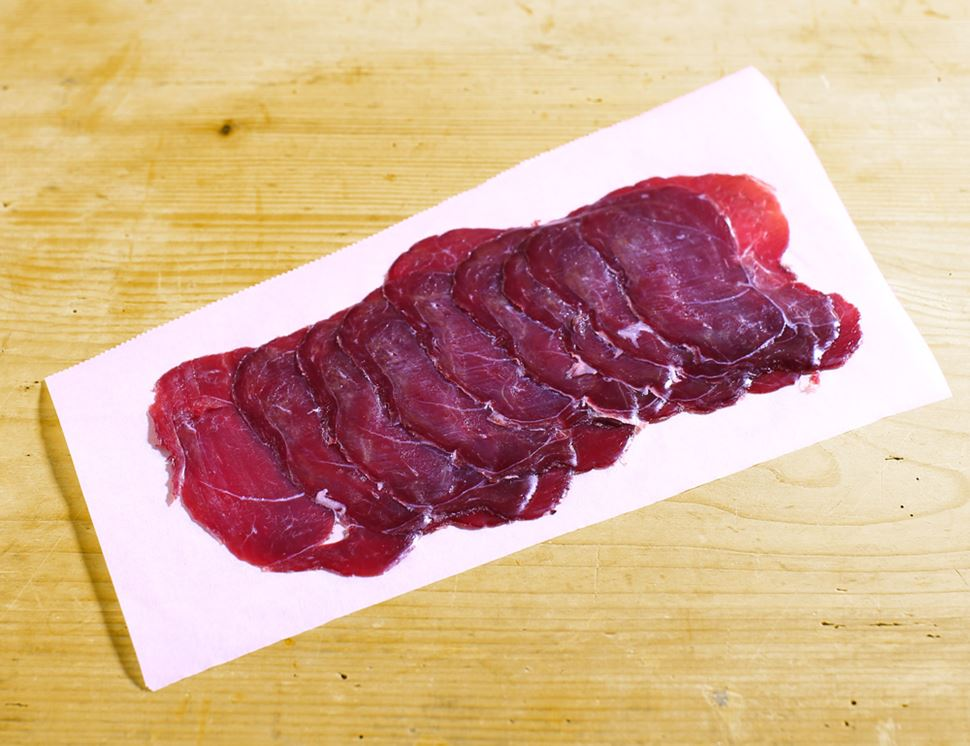 Air Dried Wild Venison Bresaola, Native Breeds (70g)