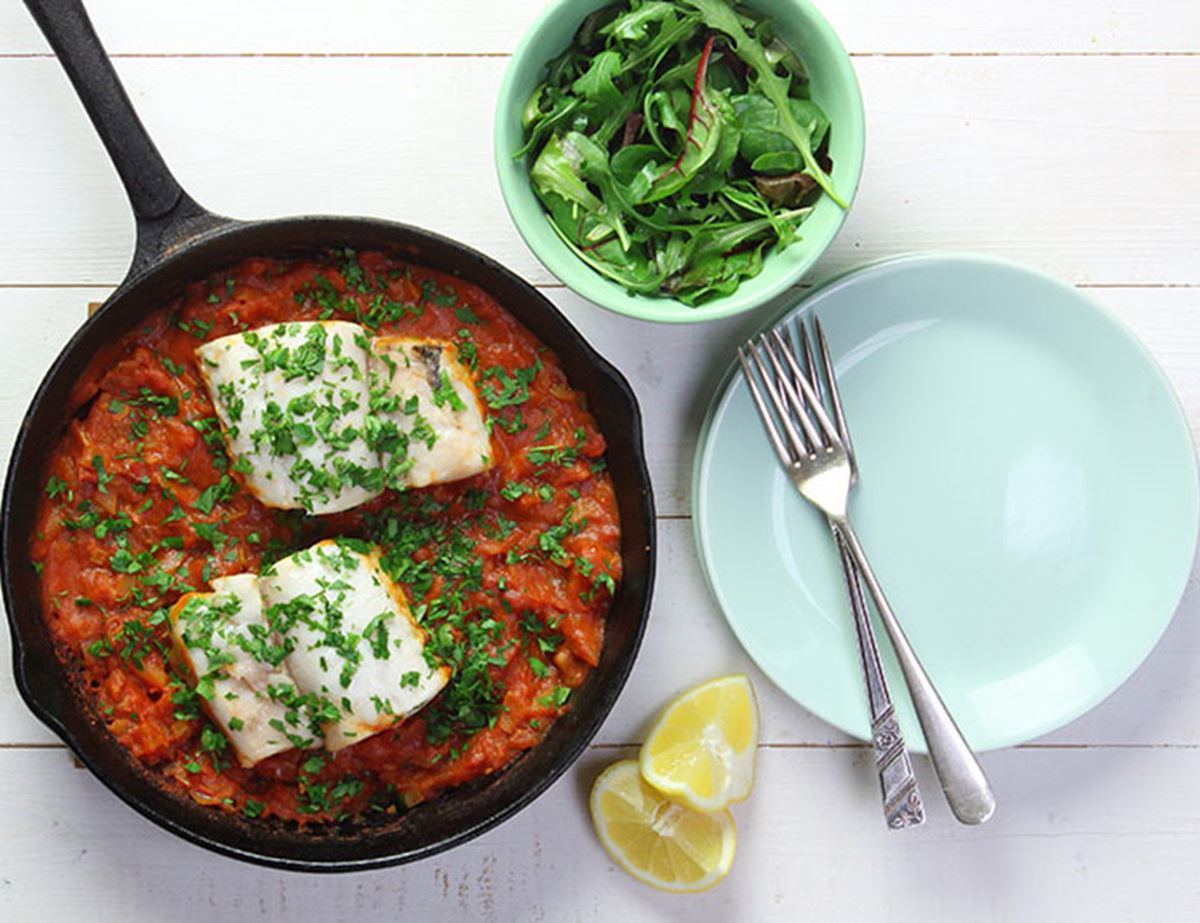 Catalonian Braised Hake Recipe Abel Cole
