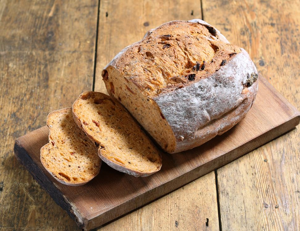 Sun-dried Tomato Bread, Organic, Famous Hedgehog Bakery, (500g)