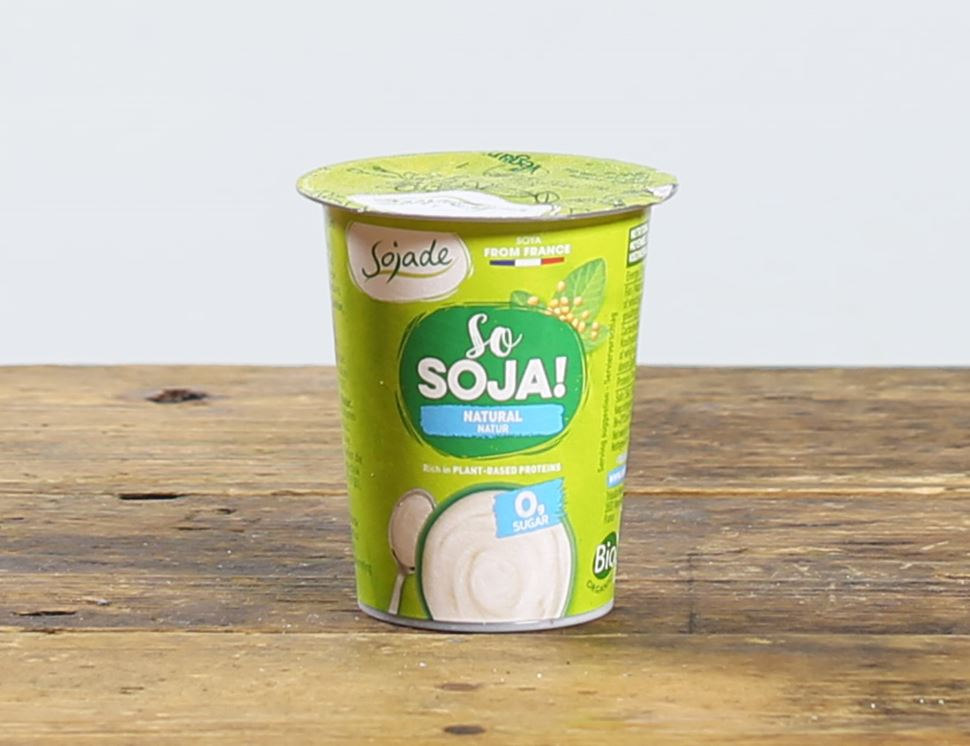 Natural Soya Yogurt, Organic, Sojade (125g)