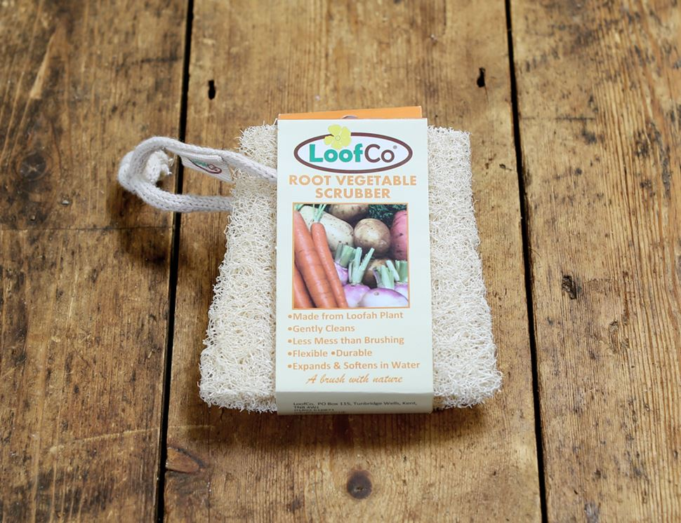 Root Vegetable Scrubber, Loofah Plant, Loofco (each)