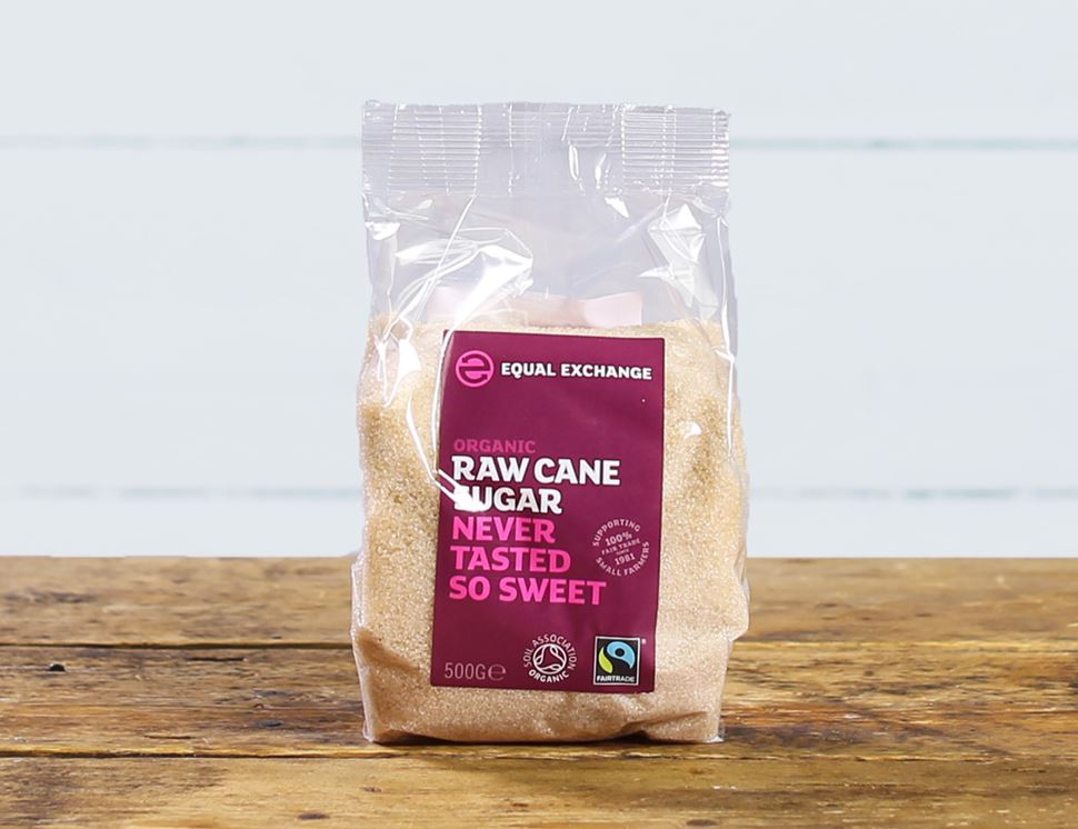 Raw Cane Sugar, Organic & Fairtrade, Equal Exchange (500g)