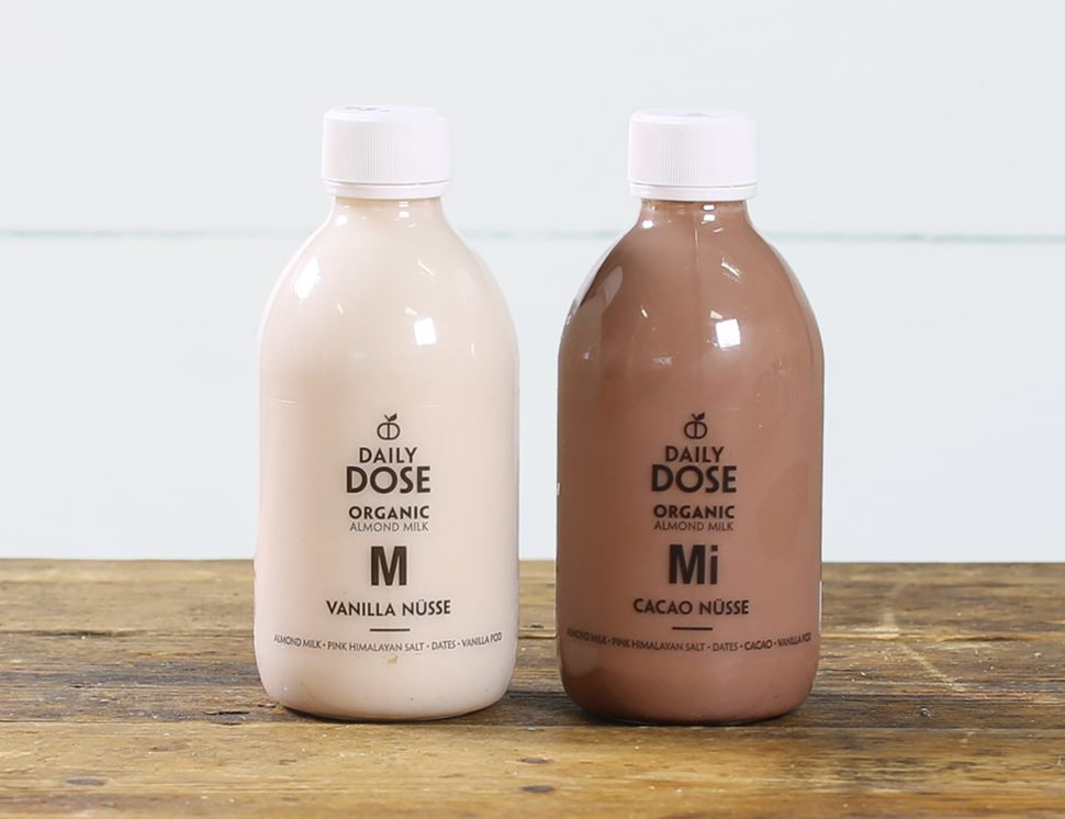 One of Each Nutmilks (Cacao & Vanilla Nüsse), Organic, Daily Dose (2 x 300ml)