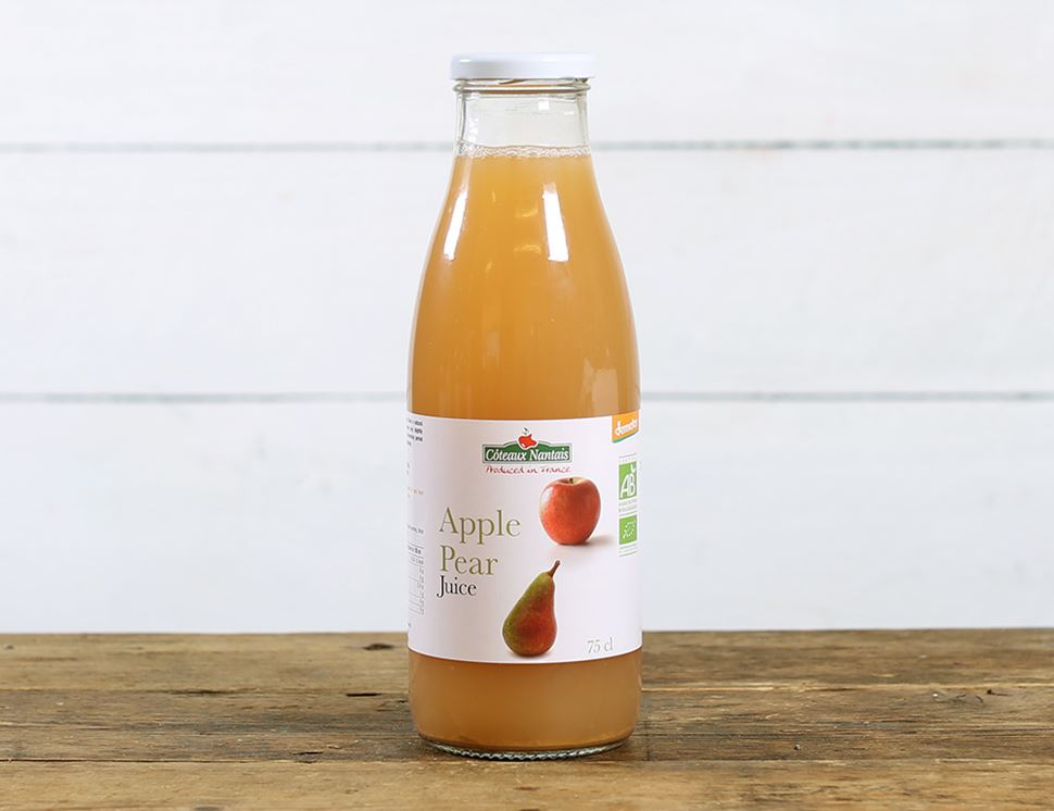 Apple Pear Juice, Organic, Coteaux Nantais (75cl)