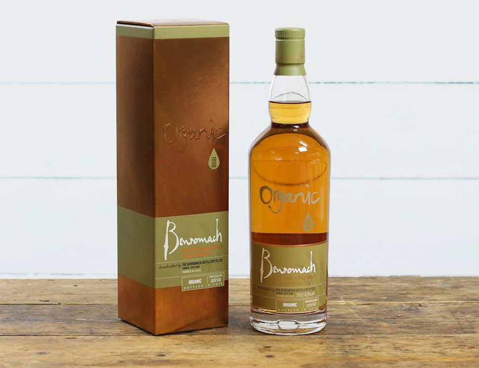Benromach Speyside Single Malt Scotch Whisky, Organic (70cl)