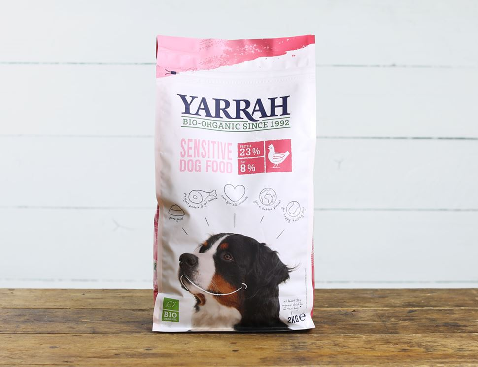 organic chicken and rice dry food for dogs yarrah