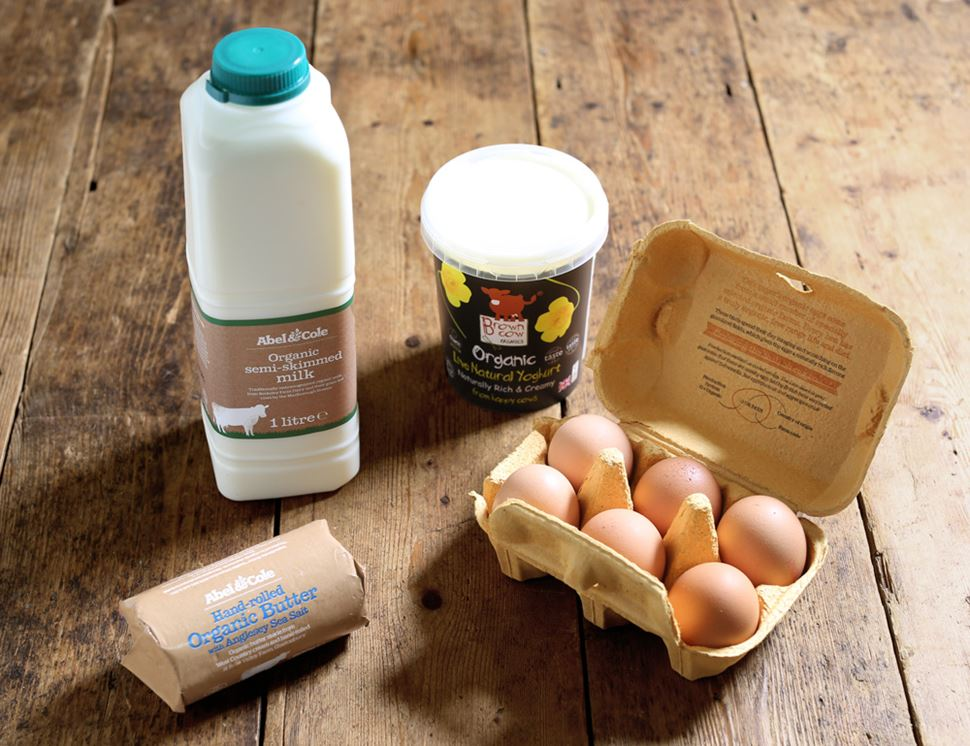 organic essentials dairy box with salted butter