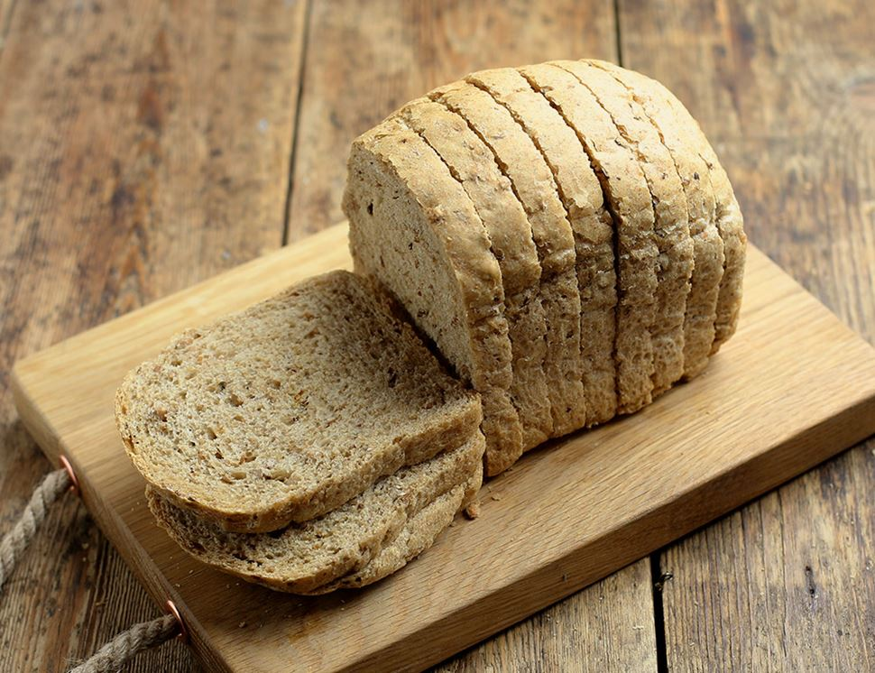 Malted Grain Loaf, Sliced, Organic, Authentic Bread Co. (400g)