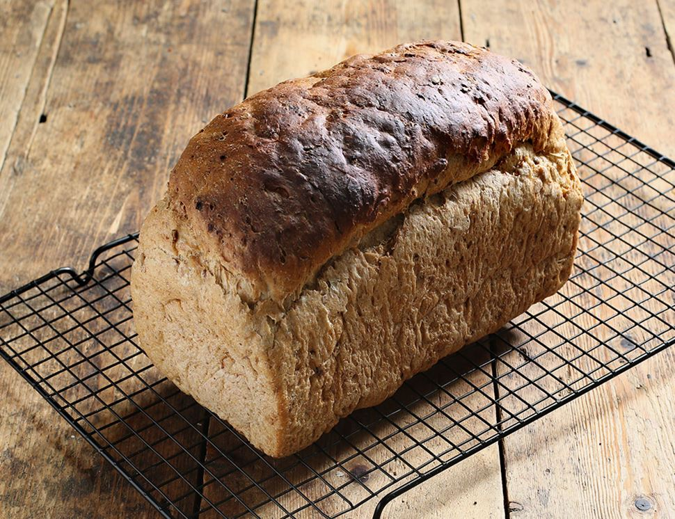organic malted grain loaf