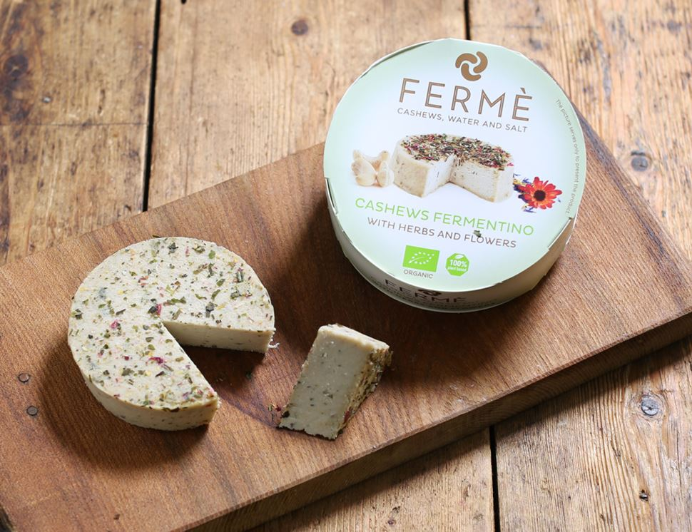 organic ferme fermentino with herbs and flowers casa del fermentino